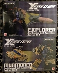 Crossfire 02 Explorer & Munitioner Appendage Add-on Kit w/ Hasbro Classics Bruticus