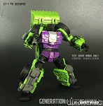 Generation Toy Gravity Builder GT-01A Scraper Sold Out!