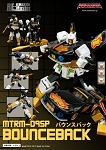 Maketoys MT MT-09SP Bounceback w/ Targetwarrior Recoil LE500