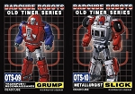 Badcube Old Time Series OTS-09 Grump & OTS-10 Slick BUNDLE (Set of 2)