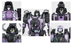 MMC R-20N Nero Con (Dimension X) Face Kit